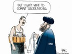 Cartoonist Chip Bok  Chip Bok's Editorial Cartoons 2006-07-21 Iran