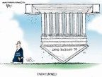 Cartoonist Chip Bok  Chip Bok's Editorial Cartoons 2006-07-28 supreme court decision
