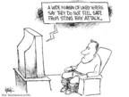 Cartoonist Chip Bok  Chip Bok's Editorial Cartoons 2006-10-23 attack