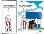 Cartoonist Chip Bok  Chip Bok's Editorial Cartoons 2007-01-04 flag