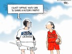 Cartoonist Chip Bok  Chip Bok's Editorial Cartoons 2007-04-16 college sports