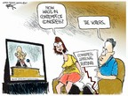 Cartoonist Chip Bok  Chip Bok's Editorial Cartoons 2007-08-02 contempt