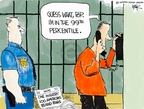 Cartoonist Chip Bok  Chip Bok's Editorial Cartoons 2008-03-04 justice