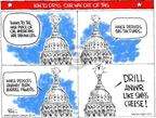 Cartoonist Chip Bok  Chip Bok's Editorial Cartoons 2008-07-29 cheese