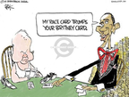 Cartoonist Chip Bok  Chip Bok's Editorial Cartoons 2008-08-04 John McCain