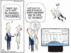 Cartoonist Chip Bok  Chip Bok's Editorial Cartoons 2008-08-29 John McCain