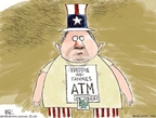 Cartoonist Chip Bok  Chip Bok's Editorial Cartoons 2008-09-09 taxpayer