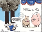 Cartoonist Chip Bok  Chip Bok's Editorial Cartoons 2008-09-11 presidential election