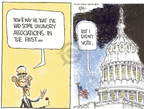 Cartoonist Chip Bok  Chip Bok's Editorial Cartoons 2008-10-10 presidential election