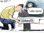 Cartoonist Chip Bok  Chip Bok's Editorial Cartoons 2009-07-27 2008 election