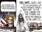 Cartoonist Chip Bok  Chip Bok's Editorial Cartoons 2009-11-19 liberty and justice