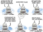Cartoonist Chip Bok  Chip Bok's Editorial Cartoons 2010-01-13 congressional