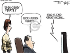 Cartoonist Chip Bok  Chip Bok's Editorial Cartoons 2010-02-15 Iraq war