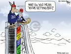 Cartoonist Chip Bok  Chip Bok's Editorial Cartoons 2010-02-17 outs