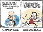 Cartoonist Chip Bok  Chip Bok's Editorial Cartoons 2010-09-21 first amendment