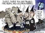 Cartoonist Chip Bok  Chip Bok's Editorial Cartoons 2010-09-22 Delaware election