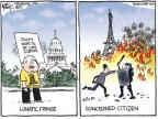 Cartoonist Chip Bok  Chip Bok's Editorial Cartoons 2010-10-22 french