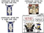 Cartoonist Chip Bok  Chip Bok's Editorial Cartoons 2010-11-04 midterm election