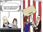 Cartoonist Chip Bok  Chip Bok's Editorial Cartoons 2011-01-06 congresswoman