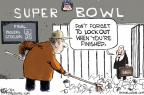 Cartoonist Chip Bok  Chip Bok's Editorial Cartoons 2011-02-08 outs