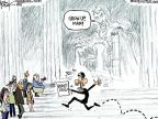 Cartoonist Chip Bok  Chip Bok's Editorial Cartoons 2011-04-12 government shutdown