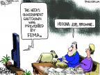 Cartoonist Chip Bok  Chip Bok's Editorial Cartoons 2011-09-27 government shutdown