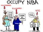 Cartoonist Chip Bok  Chip Bok's Editorial Cartoons 2011-10-31 basketball