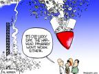 Cartoonist Chip Bok  Chip Bok's Editorial Cartoons 2012-04-13 rocket