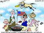 Cartoonist Chip Bok  Chip Bok's Editorial Cartoons 2012-05-24 flag