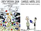 Cartoonist Chip Bok  Chip Bok's Editorial Cartoons 2012-11-01 Iraq war