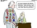 Cartoonist Chip Bok  Chip Bok's Editorial Cartoons 2012-11-23 college football