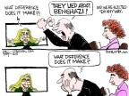 Cartoonist Chip Bok  Chip Bok's Editorial Cartoons 2013-01-24 testify