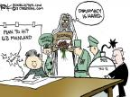 Cartoonist Chip Bok  Chip Bok's Editorial Cartoons 2013-03-29 North Korea Nuclear