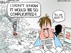 Cartoonist Chip Bok  Chip Bok's Editorial Cartoons 2013-04-12 taxpayer