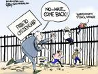 Cartoonist Chip Bok  Chip Bok's Editorial Cartoons 2013-07-29 border fence