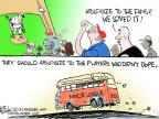 Cartoonist Chip Bok  Chip Bok's Editorial Cartoons 2013-08-06 baseball fan