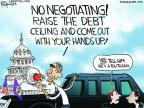 Cartoonist Chip Bok  Chip Bok's Editorial Cartoons 2013-09-20 government shutdown