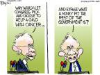 Cartoonist Chip Bok  Chip Bok's Editorial Cartoons 2013-10-04 senate majority leader