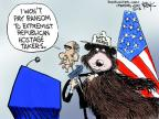 Cartoonist Chip Bok  Chip Bok's Editorial Cartoons 2013-10-09 government shutdown