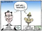 Cartoonist Chip Bok  Chip Bok's Editorial Cartoons 2013-10-11 government shutdown