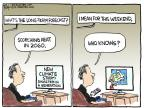 Cartoonist Chip Bok  Chip Bok's Editorial Cartoons 2013-10-12 heat