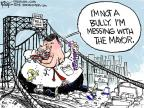 Cartoonist Chip Bok  Chip Bok's Editorial Cartoons 2014-01-10 transportation