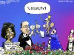 Cartoonist Chip Bok  Chip Bok's Editorial Cartoons 2014-02-13 french