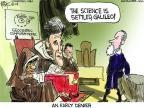 Cartoonist Chip Bok  Chip Bok's Editorial Cartoons 2014-02-22 science