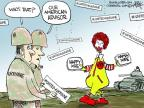 Cartoonist Chip Bok  Chip Bok's Editorial Cartoons 2014-05-16 military