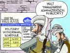 Cartoonist Chip Bok  Chip Bok's Editorial Cartoons 2014-05-31 military