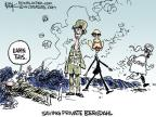 Cartoonist Chip Bok  Chip Bok's Editorial Cartoons 2014-06-06 military
