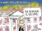 Cartoonist Chip Bok  Chip Bok's Editorial Cartoons 2014-07-17 senate majority leader