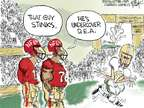 Cartoonist Chip Bok  Chip Bok's Editorial Cartoons 2014-11-19 league