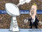 Cartoonist Chip Bok  Chip Bok's Editorial Cartoons 2015-01-29 league